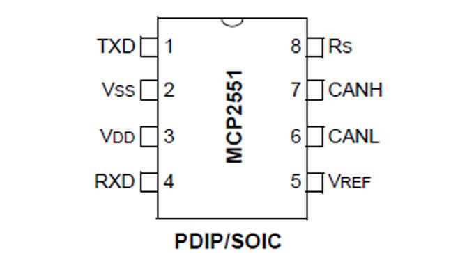 MCP2551-001