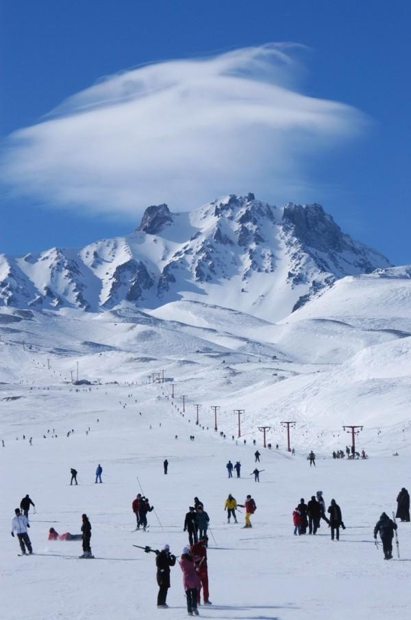 Эрджиес - лыжный курорт
