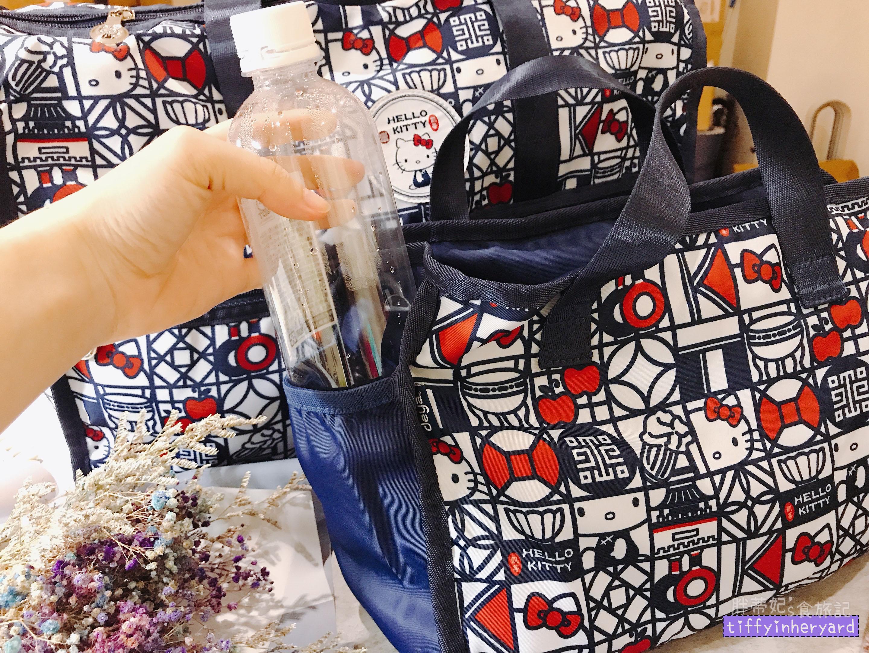 deya三合一旅行魔法包 內側可放水瓶或雨傘