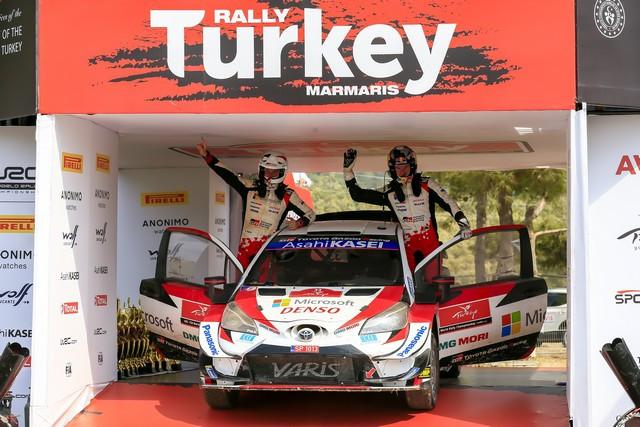 Retour en images sur un week-end exceptionnel pour TOYOTA GAZOO Racing qui remporte les 24 Heures du Mans et le Rallye de Turquie  Wrc-2020-rd-5-196-2