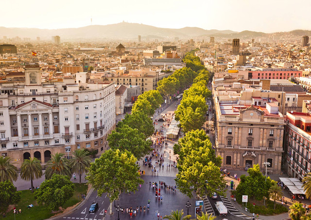 Things to do in Barcelona and short info about renting a car and driving in Spain.