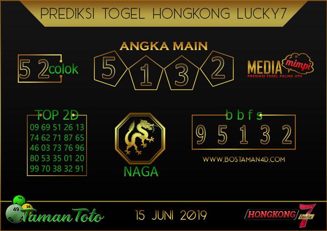 Prediksi Togel HONGKONG LUCKY 7 TAMAN TOTO 15 JUNI 2019