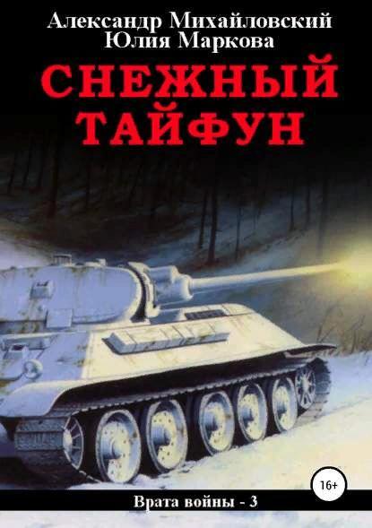 Снежный тайфун. Александр Михайловский