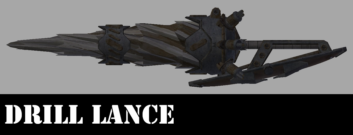 Weapon - Drill Lance/Оружие - Буровая пика (RU)