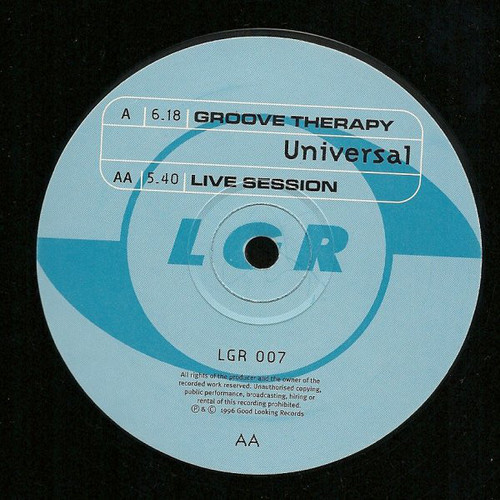 Universal - Groove Therapy / Live Session 1996