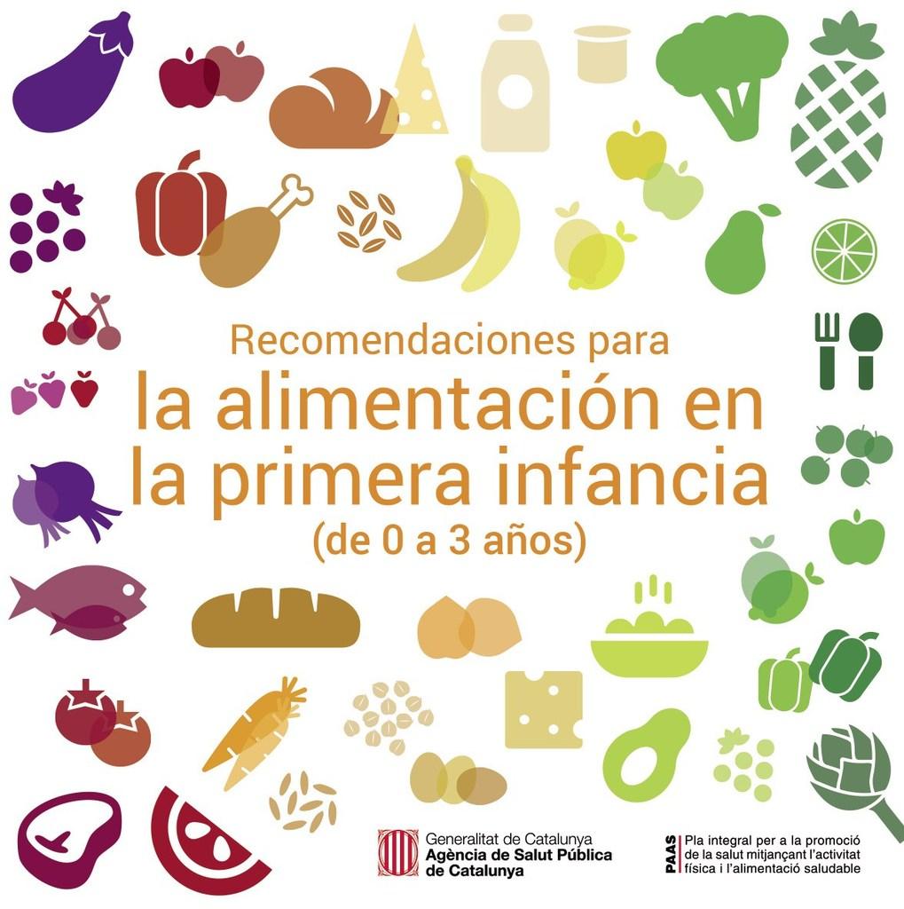 Guía de la Generalitat de Catalunya sobre alimentación infantil