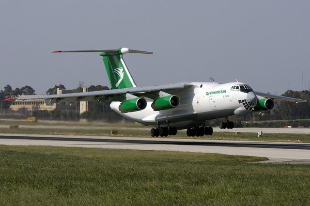 Turkmenistan-Ilyushin-Il-76
