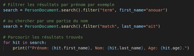 Elasticsearch 101 — L'utiliser avec le framework Django 17 - Webpick