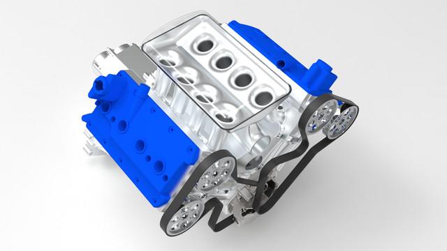 ВАЗ-V8. Восьмицилиндровый из двух вазовских. Vaz1-3