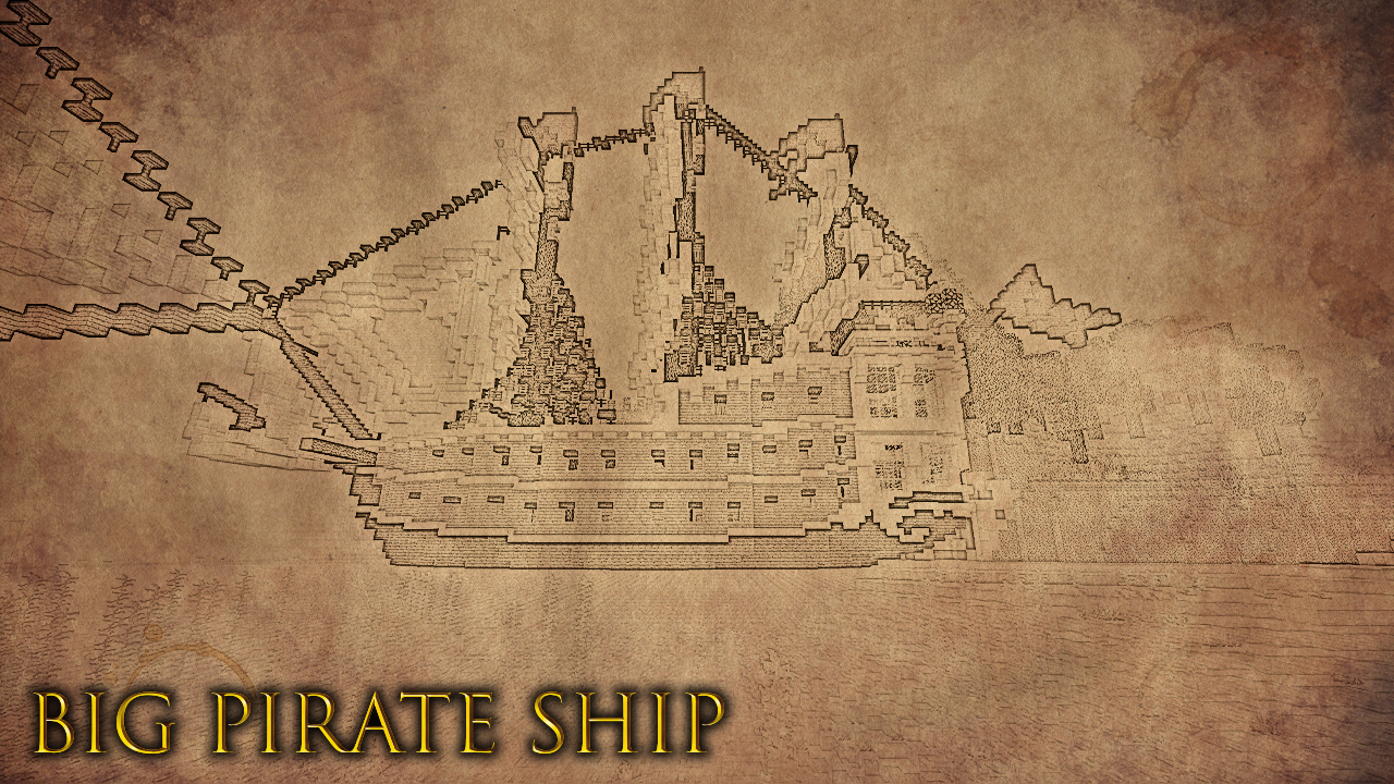 Medieval Pirate Island BUILDING CONTEST Minecraft Map