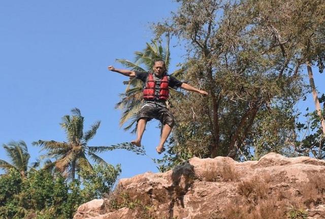 Foto-foto tempat wisata Goa Pindul di jogja