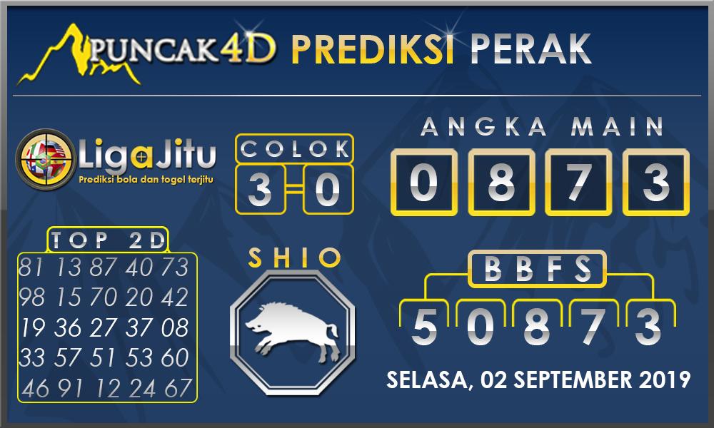 PREDIKSI TOGEL PERAK PUNCAK4D 02 SEPTEMBER 2019