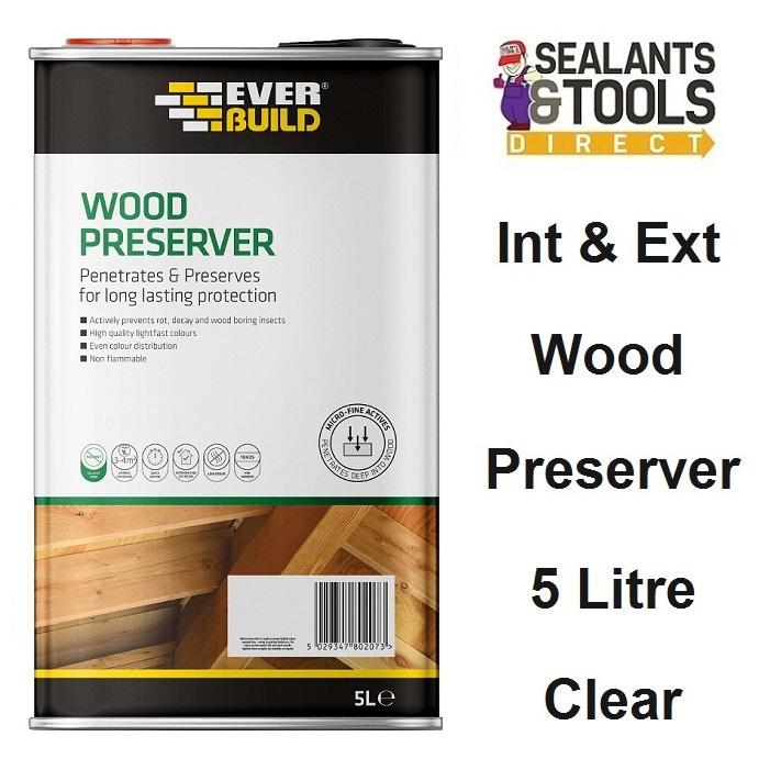 Everbuild-Wood-Preserver-Clear-5-Litre-LJCR05