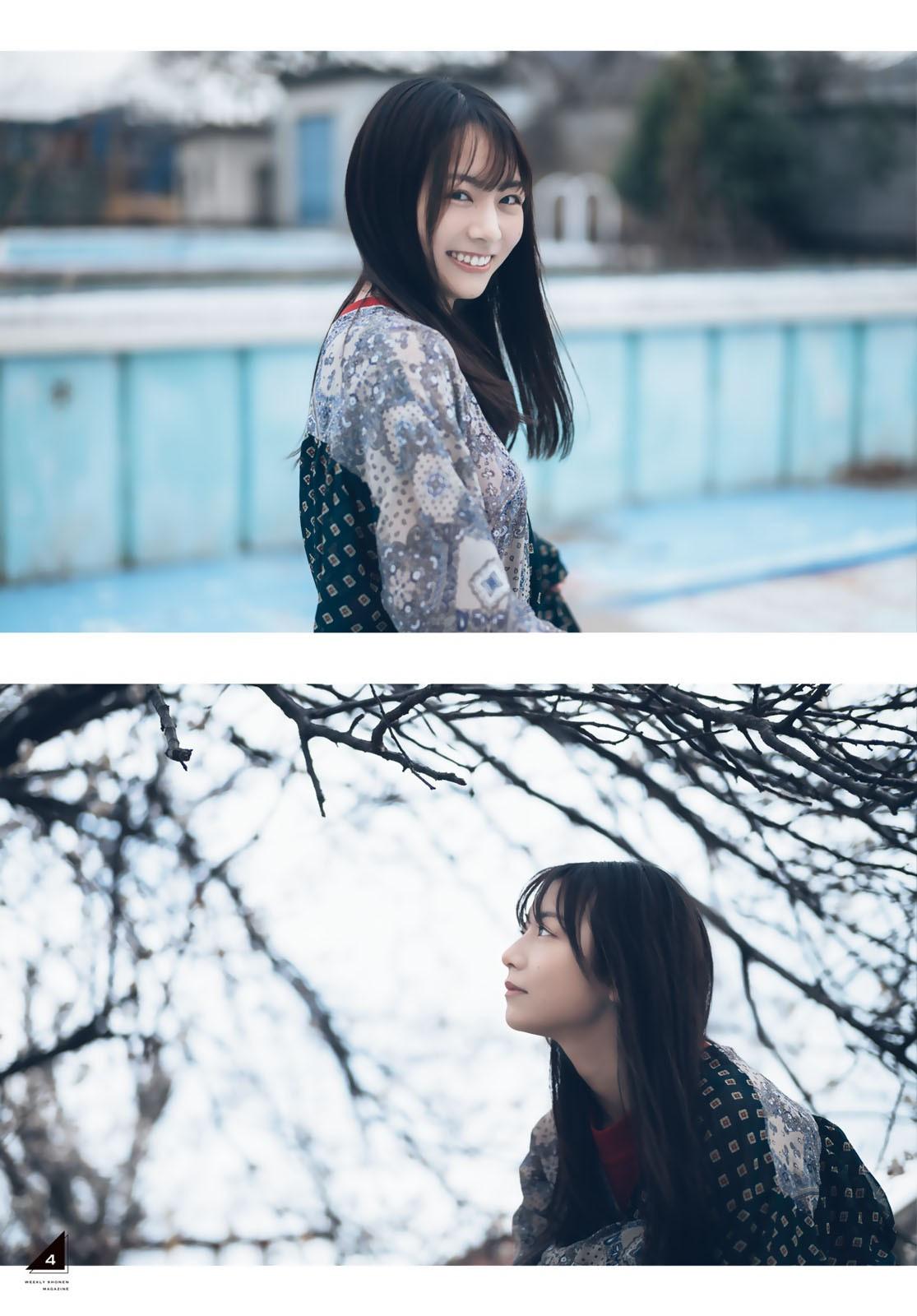 [Weekly Shonen Magazine] 2021 No.17 Hinako Kitano 北野日奈子 004