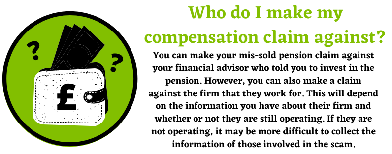 Compensation for Mis-Sold Pension Claims