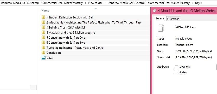 Dandrew Media (Sal Buscemi) - Commercial Deal Maker Mastery