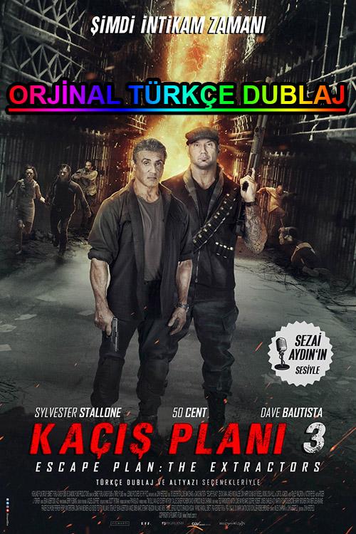 Kaçış Planı 3 | Escape Plan: The Extractors | 2019 | BDRip | XviD | Türkçe Dublaj | m720p - m1080p | BluRay | Dual | TR-EN | Tek Link