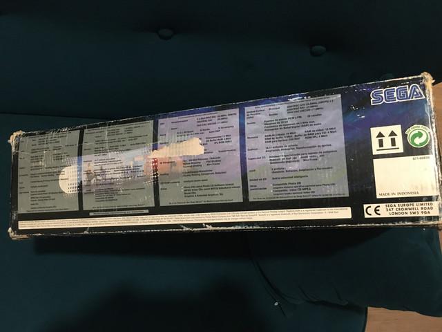 [EST] Sega Saturn PAL v1 en boite avec Fenrir + FRAM + Switchless 50/60Hz 6-AC7-B507-919-F-45-C5-92-B3-52349630-BCB6