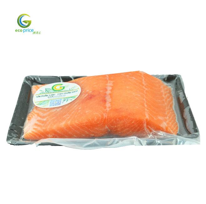 Cá Hồi Nauy Fillet Tươi- Khay-1Kg- GreenGood