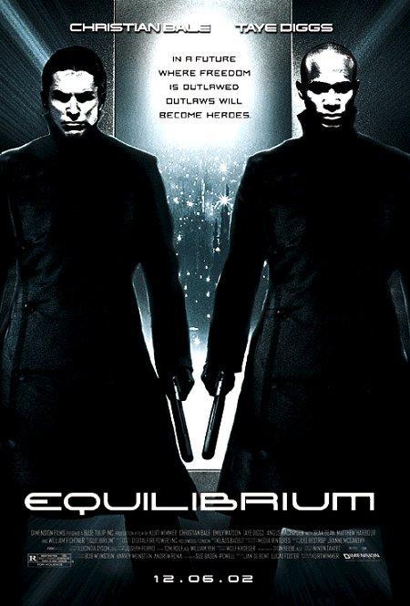 Equilibrium 2002 Hindi Dual Audio 720p BluRay ESubs 1GB | 350MB Download