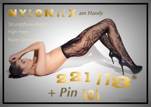 Die Erotik-Hotline für Nylonsex und Freunde von Strumpfhosen, High Heels und Nylon Dessous.