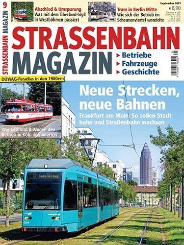 Cover: Strassenbahn Magazin No 09 September 2021
