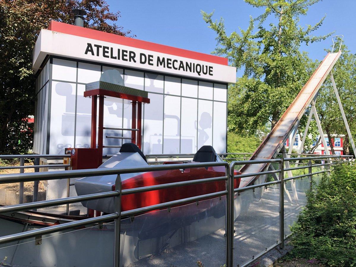 Les Machines de Quo : le Balancier, la Centrifugeuse, la Tour Gravity, le Turbo Splash Futuropolis-Balancier2