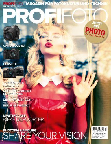 Cover: ProfiFoto Magazin für Fotokultur und Technik No 10 2021