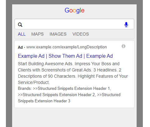 Structured-snippets