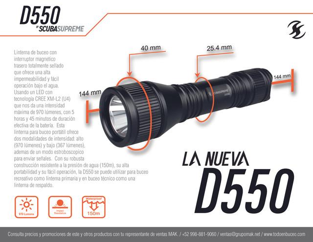 FLYER D550