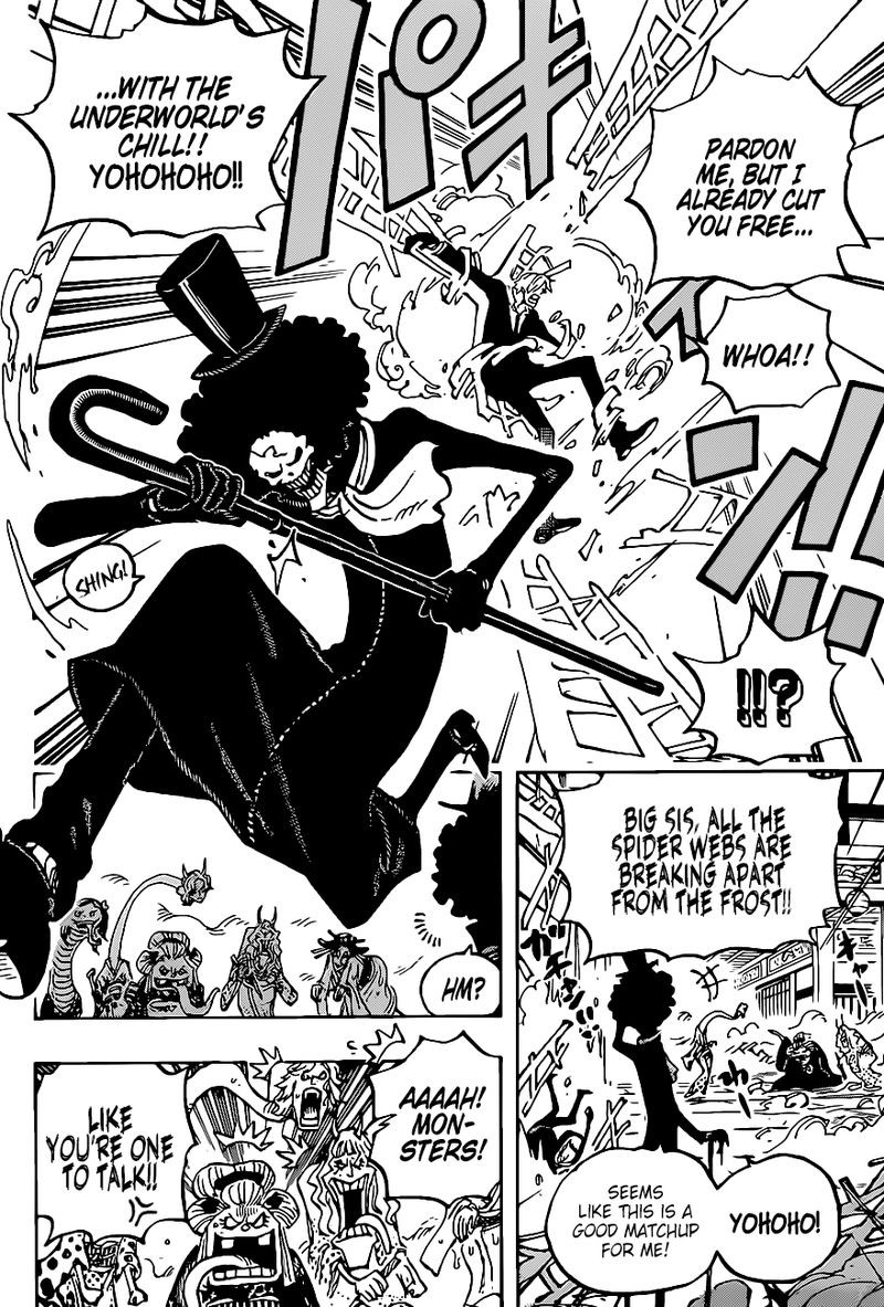 One Piece Chapter 1005 - Img 011