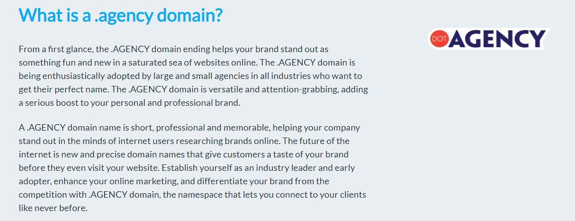 dot-agency