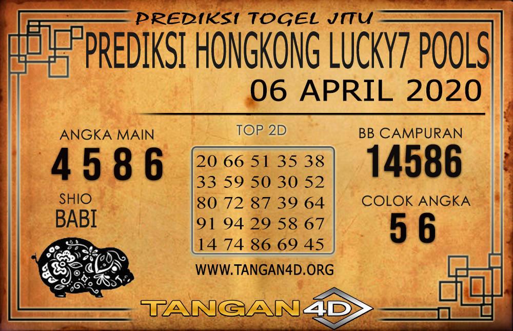 PREDIKSI TOGEL HONGKONG LUCKY 7 TANGAN4D 06 APRIL 2020