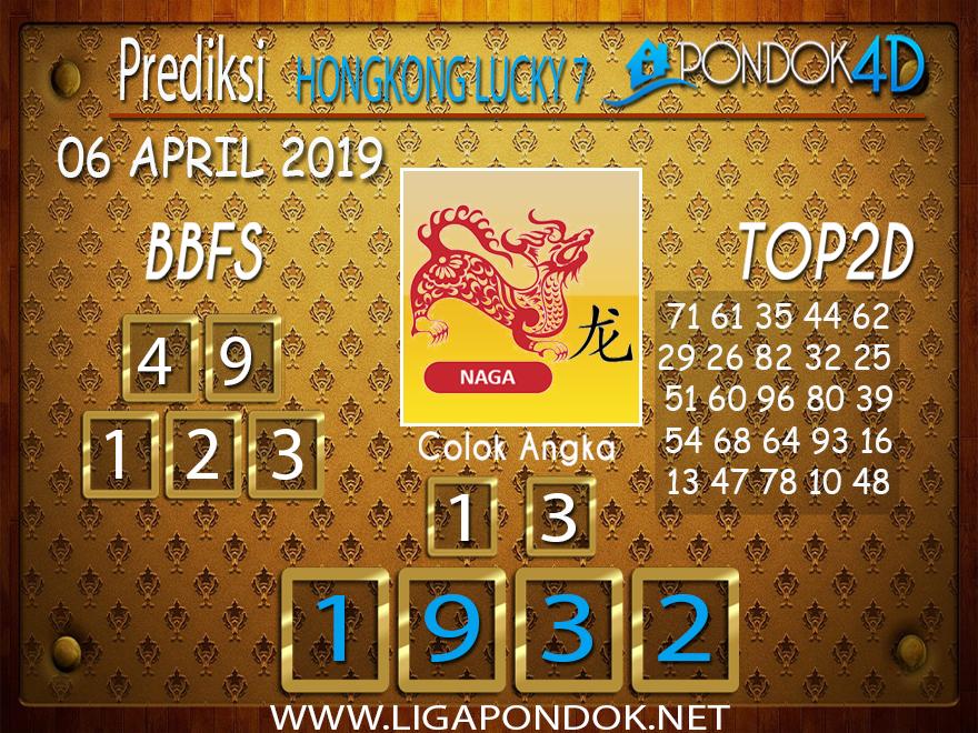 Prediksi Togel HONGKONG LUCKY 7 PONDOK4D 05 APRIL 2019
