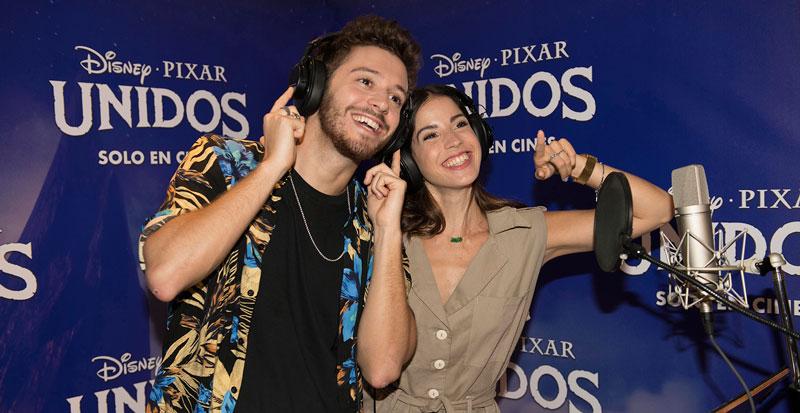 Cande Molfese y Ruggero Pasquarelli. Cortesía: Disney