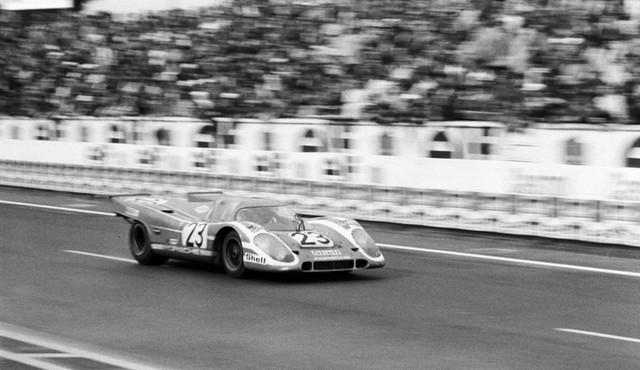 Il y a 50 ans, Porsche a remporté sa première victoire au classement général au 24 Heures du Mans B-HDI-4614