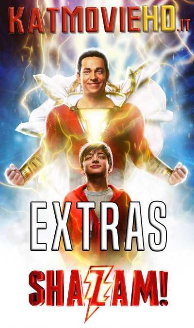 Shazam! (2019) EXTRAS 720p BluRay | Deleted + Bonus Scene