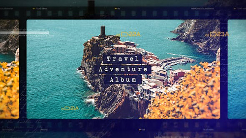 Travel Adventure Album - Project for After Effects (Videohive)