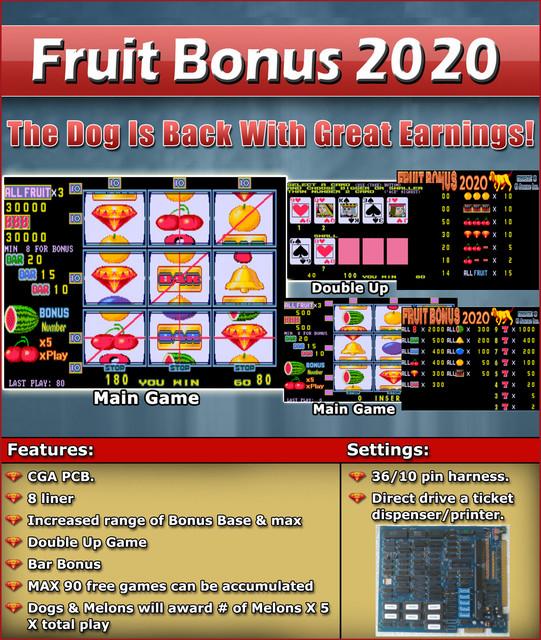 FRUIT BONUS 2020
