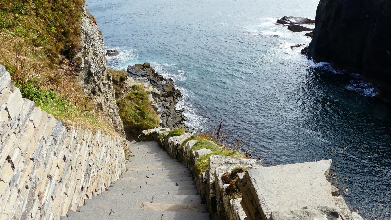 Whaligo Steps tour of Caithness