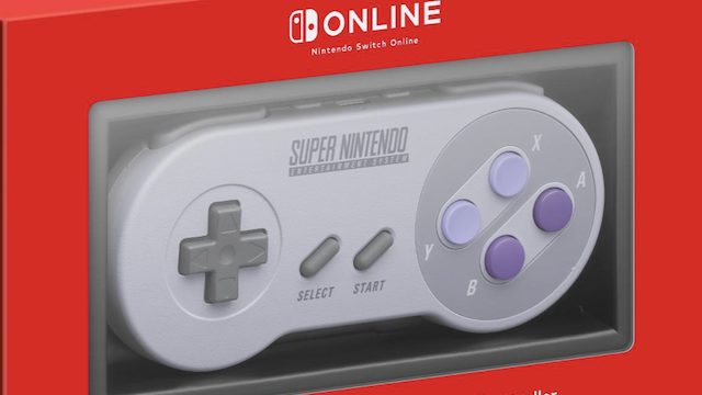 Super Nintendo Controllers For Nintendo Switch Online Subscribers