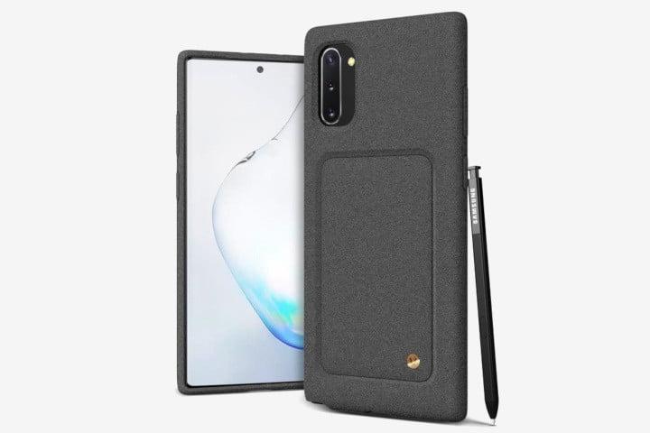 Рингке Fusion Samsung Galaxy Note 10 с прозрачным чехлом