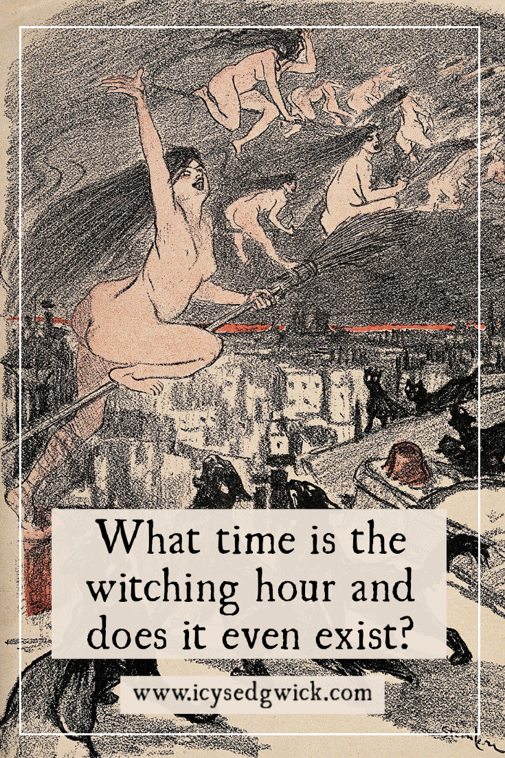 During the witching hour, monsters and other evil creatures walk abroad. But what time is the witching hour and does it even exist? Click here to find out.