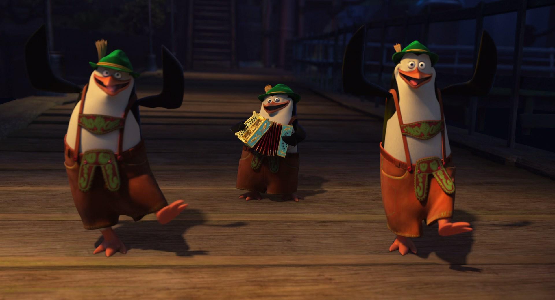 Los Pingüinos De Madagascar (2014) x265 10 Bits 1080p