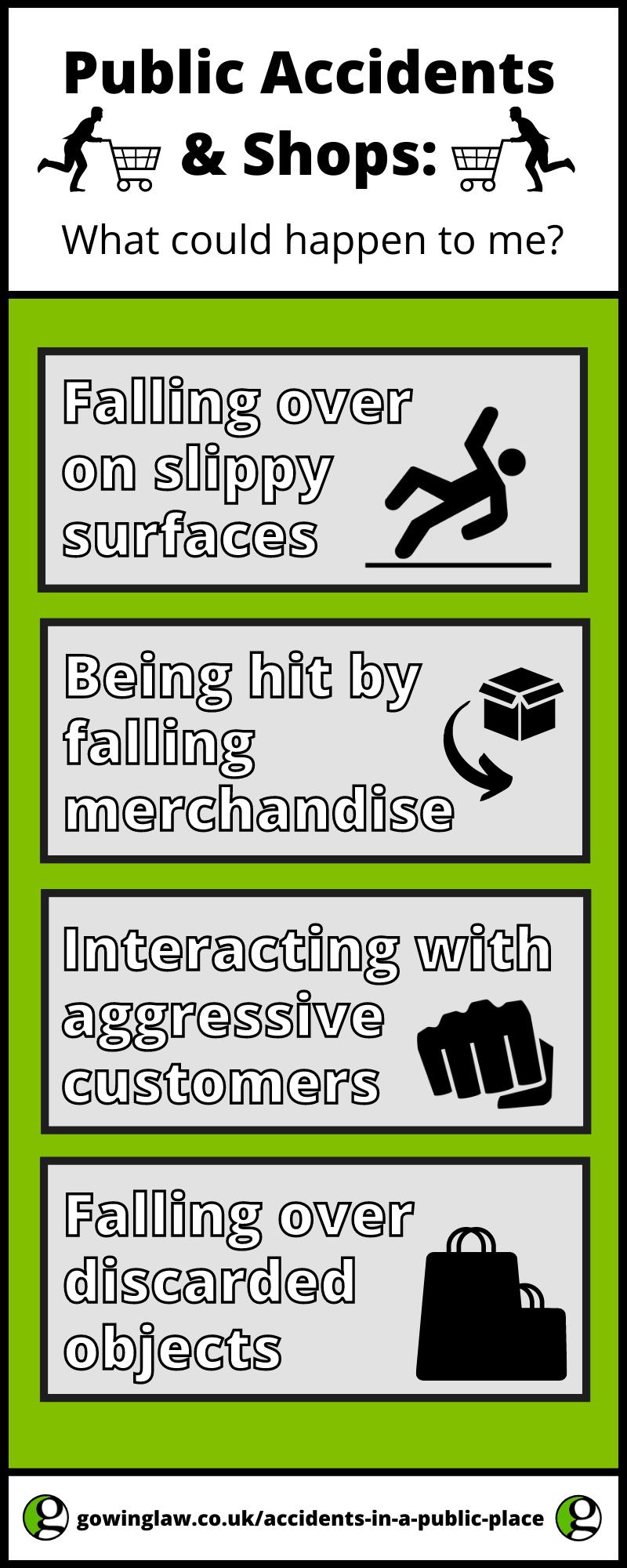 Public Accidents list infographic