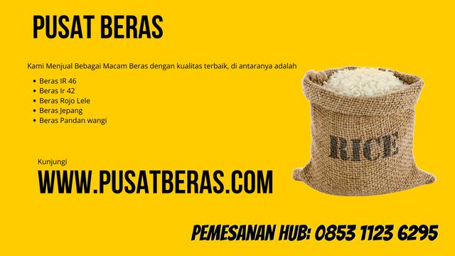 Distributor Beras Murah di Luwu Timur wa 0853 1123 6295