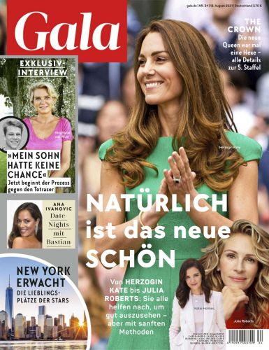 Cover: Gala Magazin No 34 vom 19  August 2021