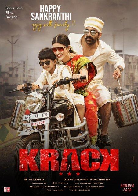 Krack (2021) Telugu 480p HDRip x264 AAC 400MB ESub