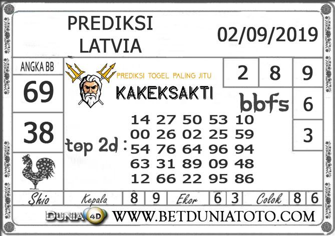 """Prediksi Togel """"LATVIA"""" DUNIA4D 02 SEPTEMBER 2019"""