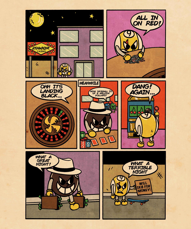 Gambling-Comic